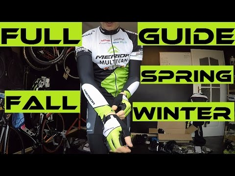Top 5 Cycling Clothing Sets For Fall, Winter And Spring + The Worst Dressing Mistake.