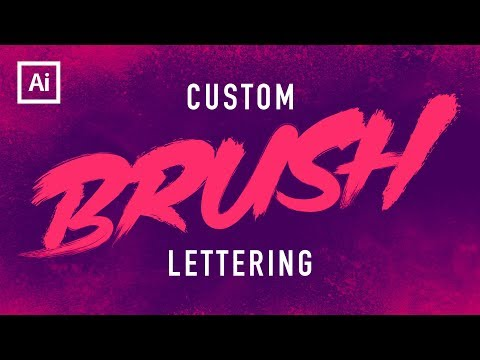 Dry Brush Text Tutorial (Illustrator)