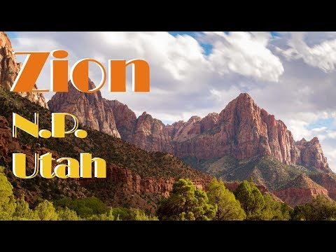 Travel Photography - 3 Days in Zion National Park in Southern Utah 2016 vlog