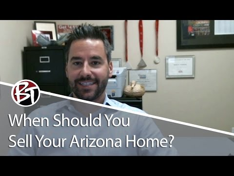 Phoenix Real Estate Agent: When Is the Best Time to Sell Your Arizona Home?