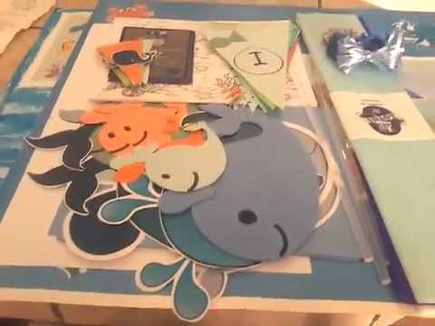 Whale theme birthday party: diy decor and invites