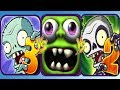 Plants vs Zombies 3 vs Plants vs Zombies 2 vs Zombie Tsunami