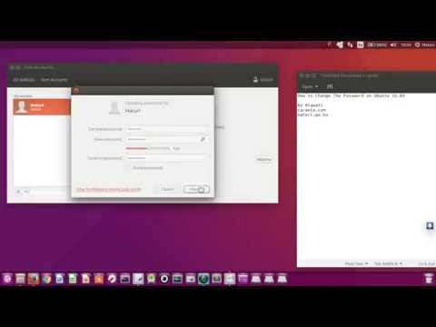How to Change The Password on Ubuntu 16.04