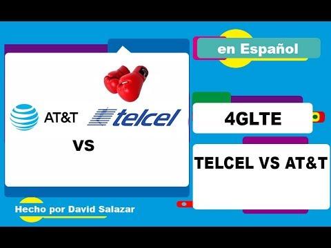 Prueba de velocidad Telcel VS Iusacell(AT&T)