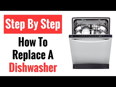 Easy Guide To Replacing A Dishwasher (Step-By-Step)