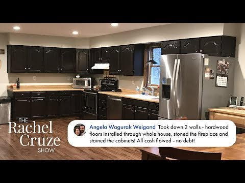 She Paid Cash for a Home Remodel - #SheWorksHardSavingMoney