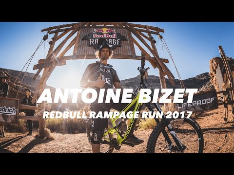 Antoine Bizet's 2017 Red Bull Rampage people's choice award run