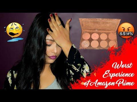 Worst Amazon Prime Service | Got Broken Sivanna Colours Ultra Blush Palette 01 | Indian Makeup