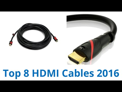 8 Best HDMI Cables 2016