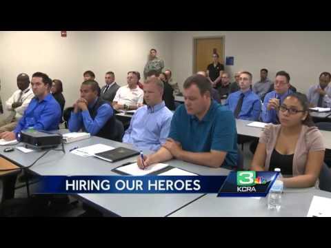 Hiring our Heroes helps veterans find jobs