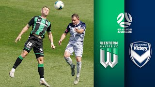 Western United FC vs Melbourne Victory Highlights | Round 9