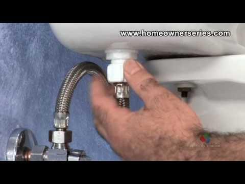 Toilet Repair - Ball-Cock Supply Valve Replacement