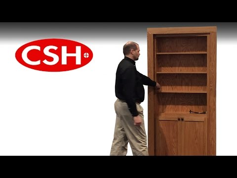 Easily Install the Pivoting InvisiDoor Bookcase