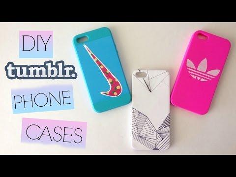 DIY Tumblr Phone Cases (Easy + Cute!)