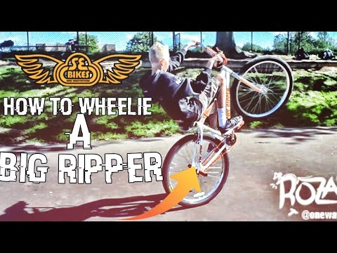 HOW TO WHEELIE ANY SE BIKE!! BIG RIPPER/SO CAL BY @ONEWAY_STEPHAN