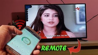 How to make TV Remote using Mobile