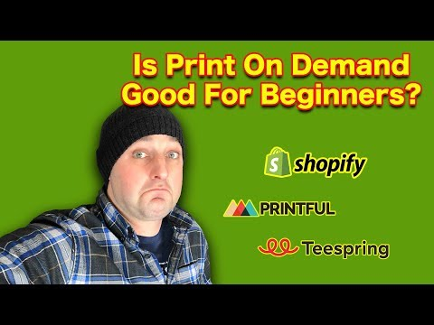 Can You Make Money w/ Print On Demand As A Beginner?