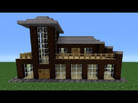 Minecraft 360: How To Build A Miniture House - House Number 3