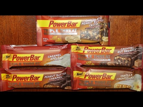 Power Bar Chocolate PB Crisp/Caramel Apple/Caramel Nut Brownie/PB Caramel/Vanilla Caramel Nut