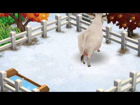 Chianina Cow - FarmVille 2's New Farm Items Theme