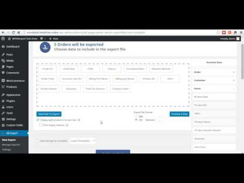 How To Export WooCommerce Orders to Excel, CSV, or XML with WP All Export