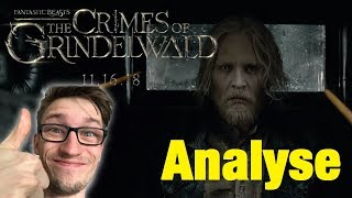 FANTASTIC BEASTS 2: The Crimes Of Grindelwald Trailer ANALYSE