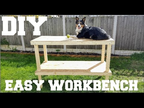 Cheap & Easy DIY Workbench | The Carpenter's Daughter
