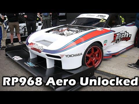 Unlocking the Aerodynamic Secrets of the World's Fastest Circuit Porsche! RP968 Time Attack Car