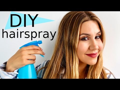 DIY HAIRSPRAY - Ditch All The Chemicals!