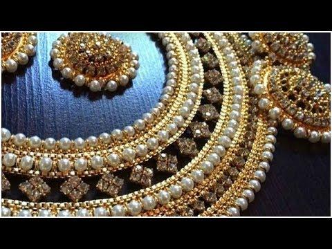 Latest Kundan Jewellery Designs
