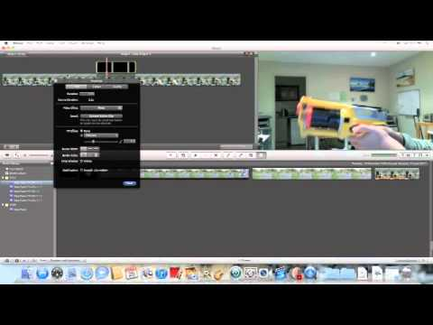 IMovie Gun Shot Tutorial