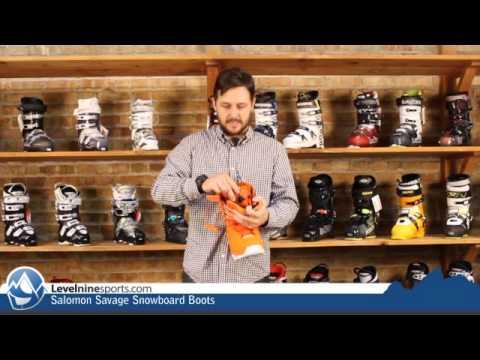 Salomon Savage Snowboard Boots
