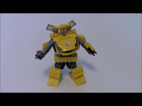 How to Build mini Lego Transformers Bumblebee by BWTMT Brickworks