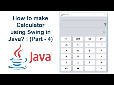 How to create Calculator using Swing in Java? : (Part-4)