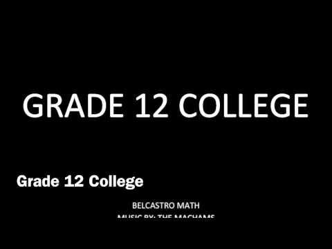 Grade 12 College