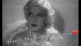 jean harlow is my kind of woman❤️
