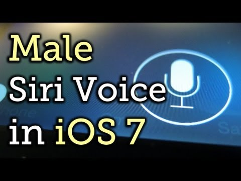 Change Siri's Voice from Female to Male in the New iOS 7 [How-To]