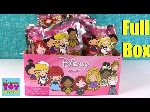 Disney Princess Series 7 Figural Keyring Blind Bag Toy Review Opening   PSToyReviews