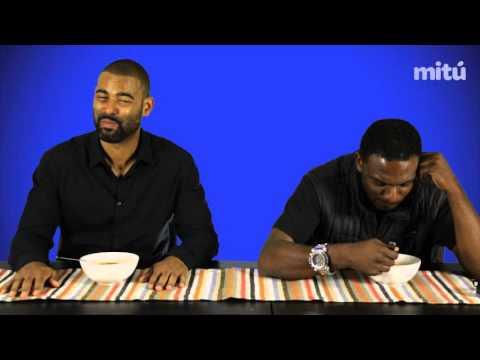 Black Dudes Try MENUDO   Taste Test   mitú