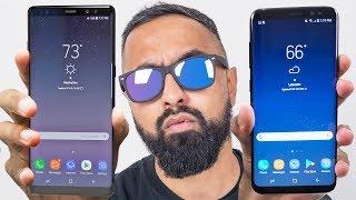 Samsung Galaxy Note 8 vs S8 Plus