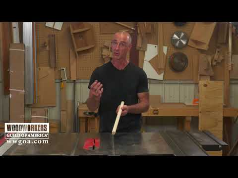 How to Draw a Straight Line on a Dowel