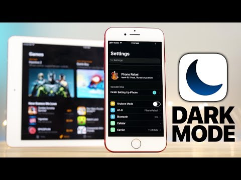 iOS 11 Dark Mode Review!
