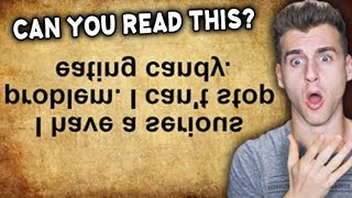 Cna yuo raed tihs? Olny 50% of poeple cna raed tihs!