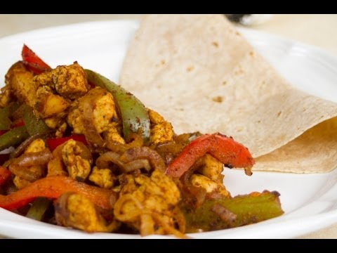 Low Calorie Chicken Fajitas