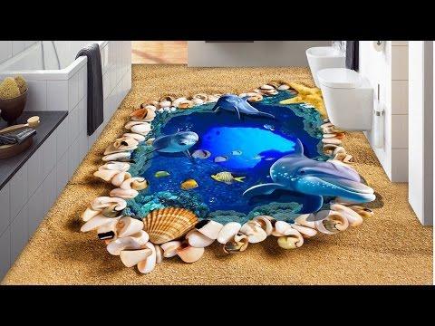Awesome Bathroom 3D Floor Designs 💓 ᴴᴰ █▬█