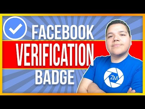 Facebook Verification Badge 2018 - Zepeda Media