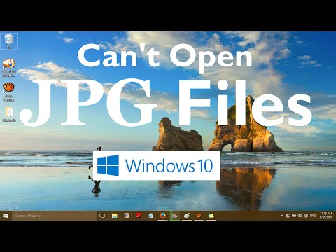 Can't Open JPG Files in Windows 10 (Solved)