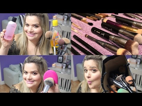 THE ULTIMATE GUIDE TO CLEANING YOUR MAKEUP BRUSHES: How to Clean Makeup Brushes + DEMO