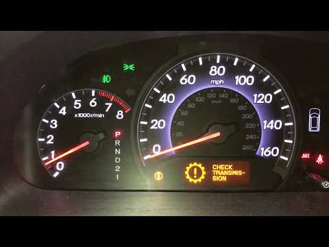 Honda Odyssey Check Transmission Flashing D P0873 4th Gear Pressure Switch Replacement