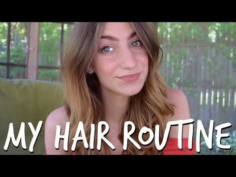 My Hair Routine | For Oily Roots + Dry Ends